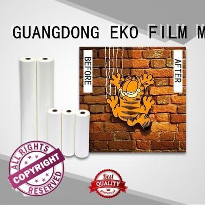 professional laminating film price maker for menu