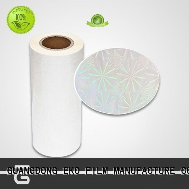 holographic packaging films high quality for poster FSEKO