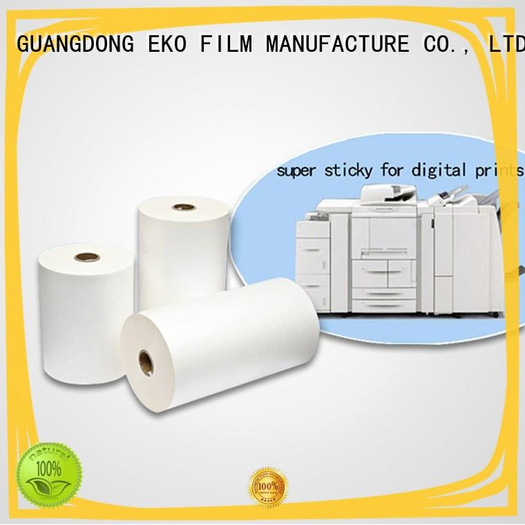 professional self laminating film dbm for book cover