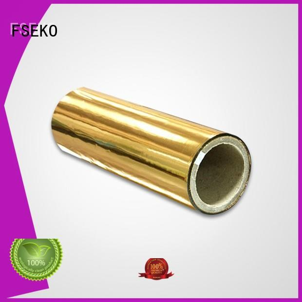 thermal metalized film manufacturer pds FSEKO company