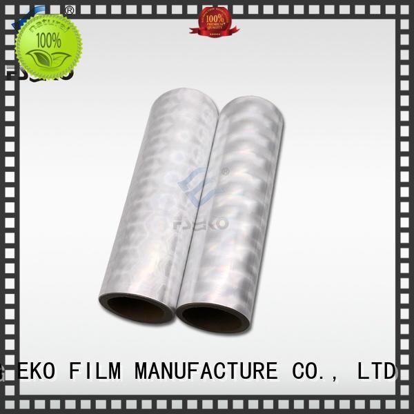FSEKO green hot foil printing factory for postcard