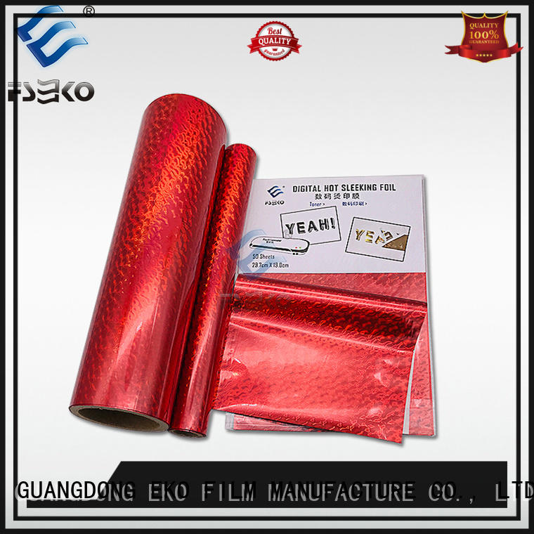 FSEKO nice quality hot foil stamping China for business card