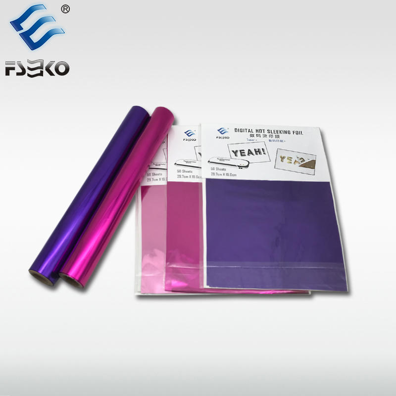 EKO Digital Toner Foil: Magenta and Purple