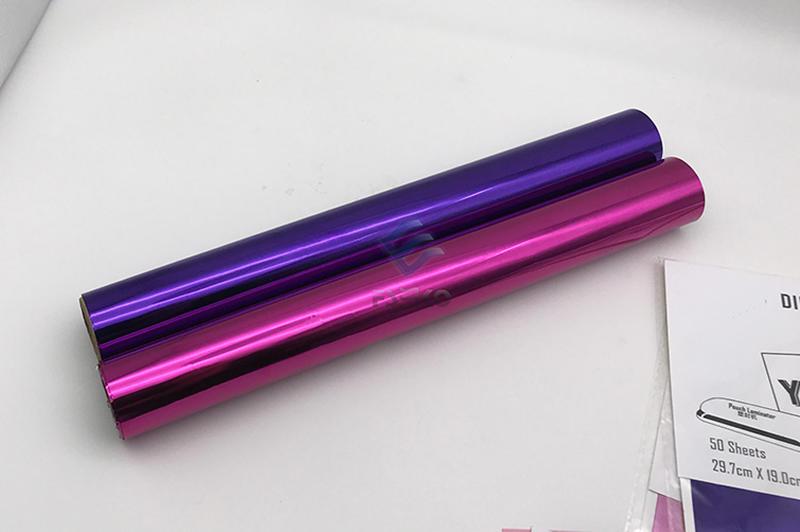 EKO Digital Toner Foil: Magenta and Purple
