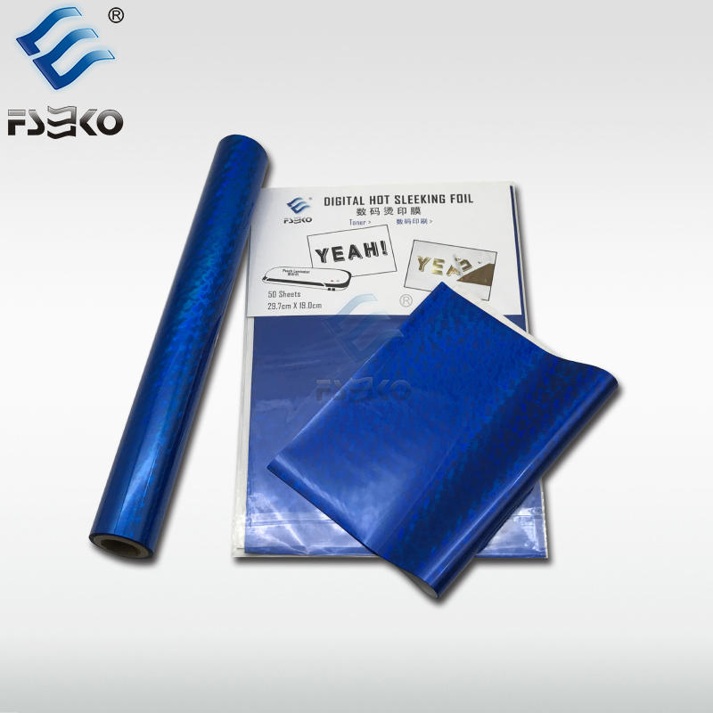 EKO Toner Foil Sleeking Foil Transfer Foil: Blue Wave