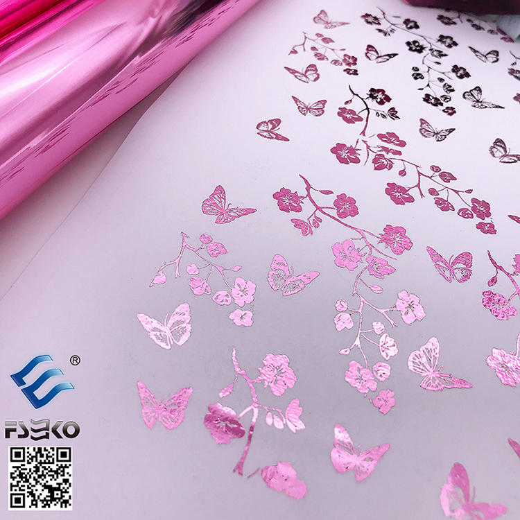 EKO Toner Foil Sleeking Foil Transfer Foil: Red foil and Pink foil