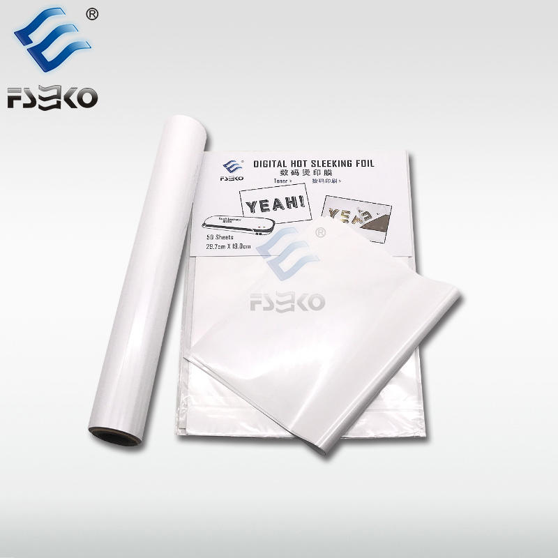EKO Digital Toner Foil Sleeking Foil: White Ink