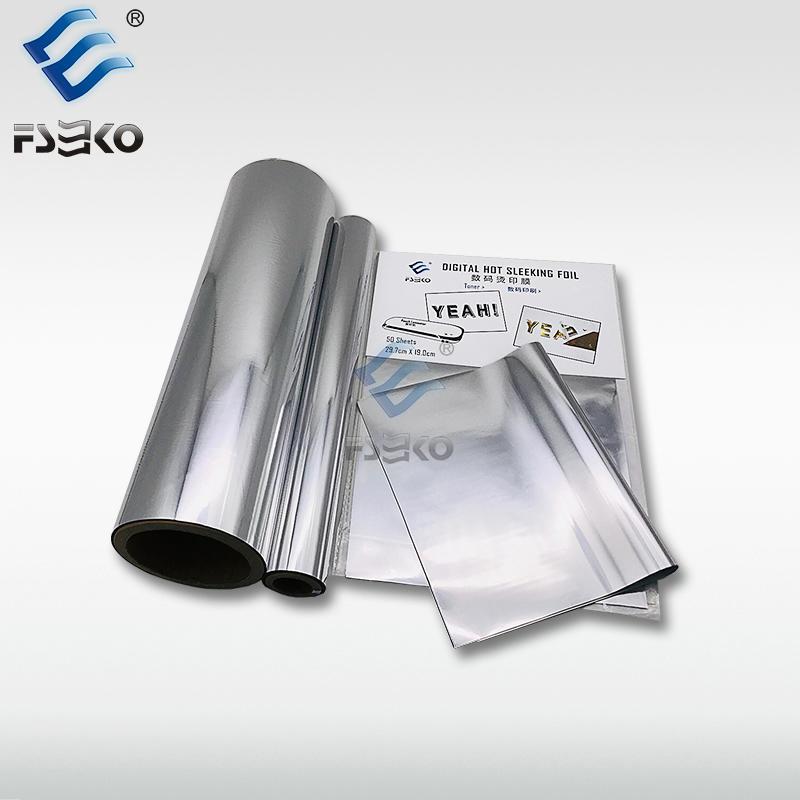 EKO Digital toner foil/ hot sleeking film: Silver