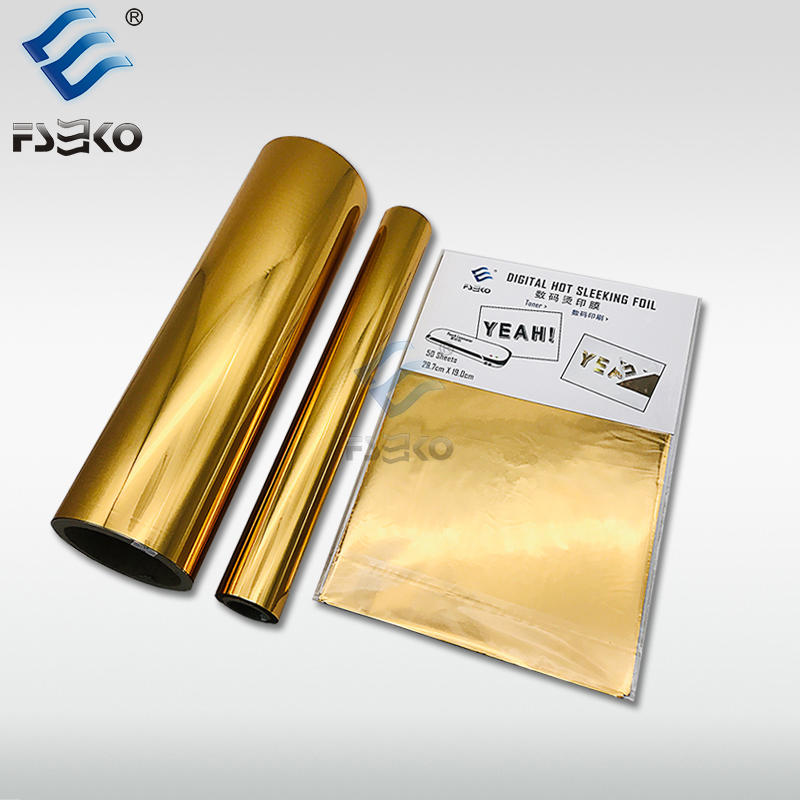 EKO Digital Toner Foil/ hot sleeking film: Gold