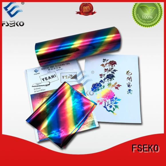 FSEKO gold hot foil stamping supplies for postcard