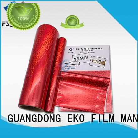 yellowhot sleeking film wholesale for business card