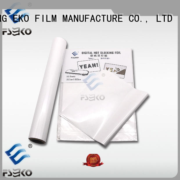 FSEKO gold hot stamping printing in China for business card