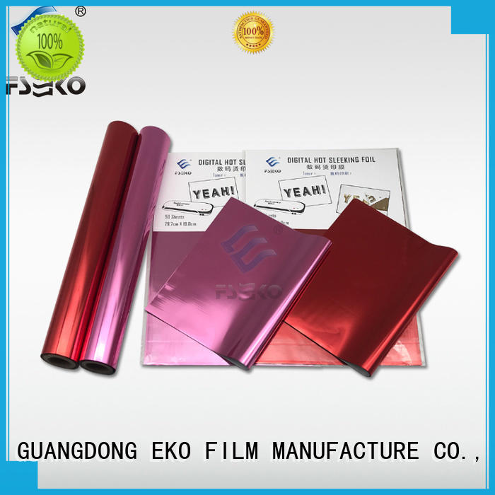 FSEKO Wholesale rose gold hot stamping foil factory for packaging