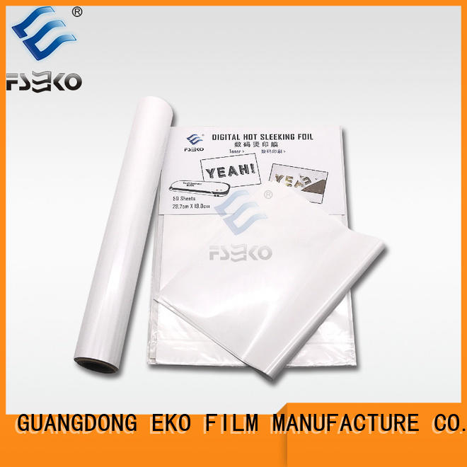 Wholesale hot stamping foil suppliers in China for packaging
