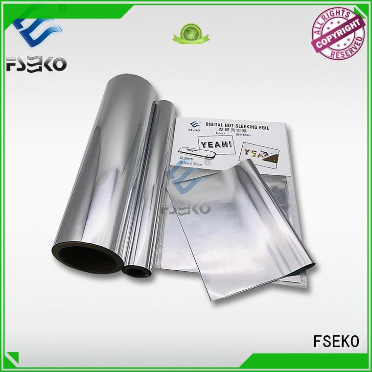 FSEKO hot sleeking film manufacturer for book cover
