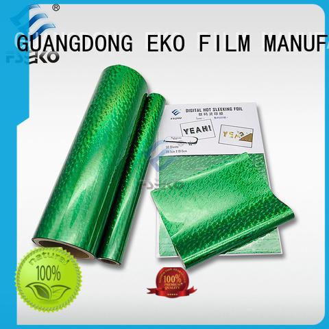 FSEKO red hot foil stamping manufacturer for business card
