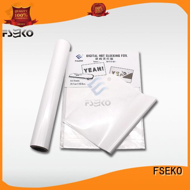 FSEKO hot sleeking film factory price for packaging