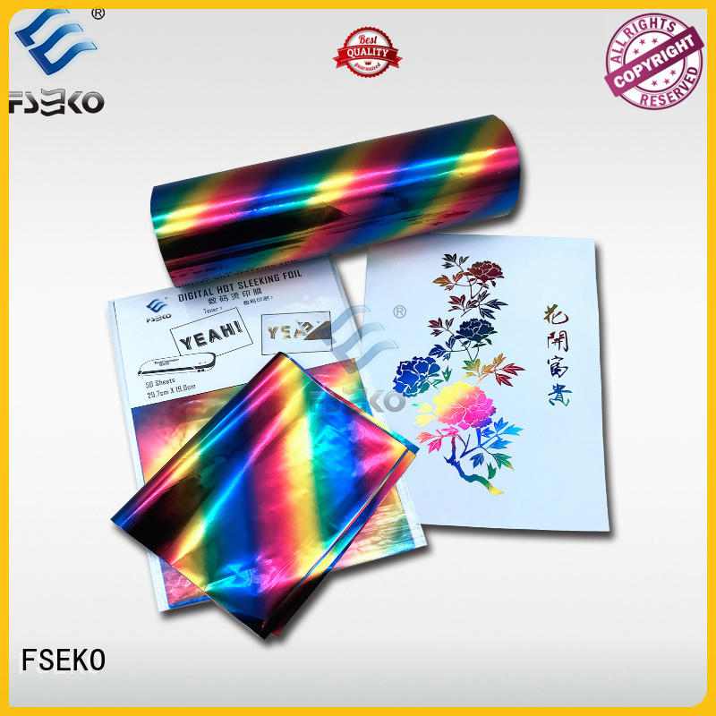FSEKO Best hot stamping foil suppliers factory price for book cover
