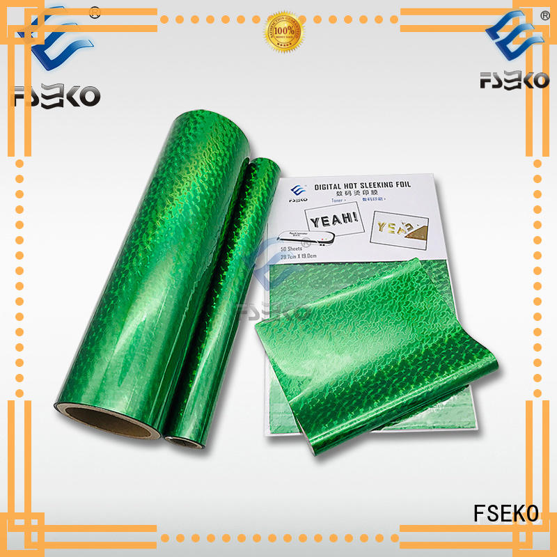 hot stamping foil suppliers manufacturer for book cover FSEKO