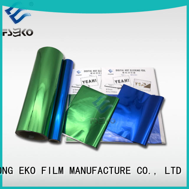FSEKO hot foil stamping factory price for book cover