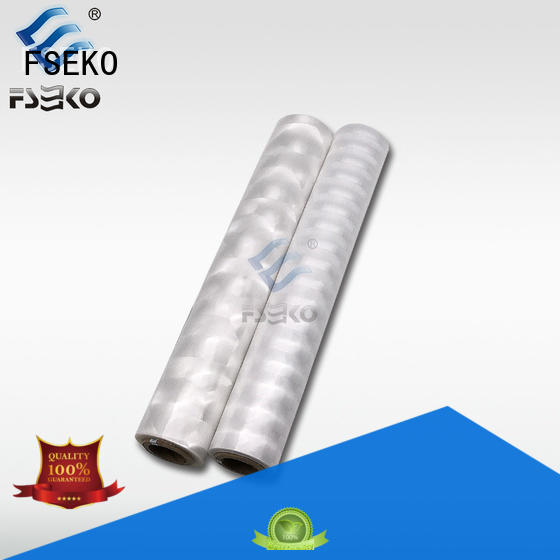 FSEKO green hot foil stamping supplies for postcard