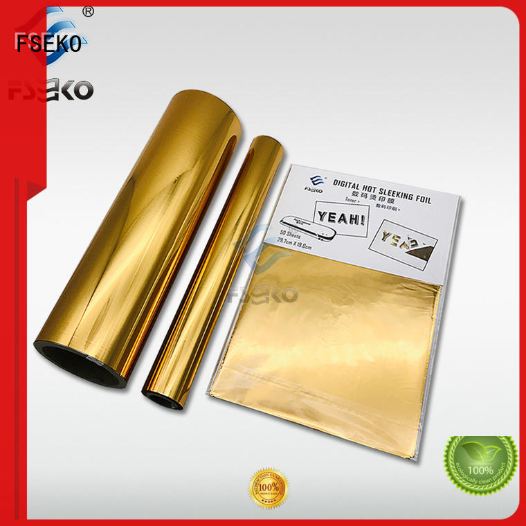 FSEKO red hot stamping plastic wholesale for packaging