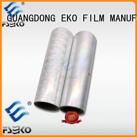 FSEKO hot foil stamping leather wholesale for postcard