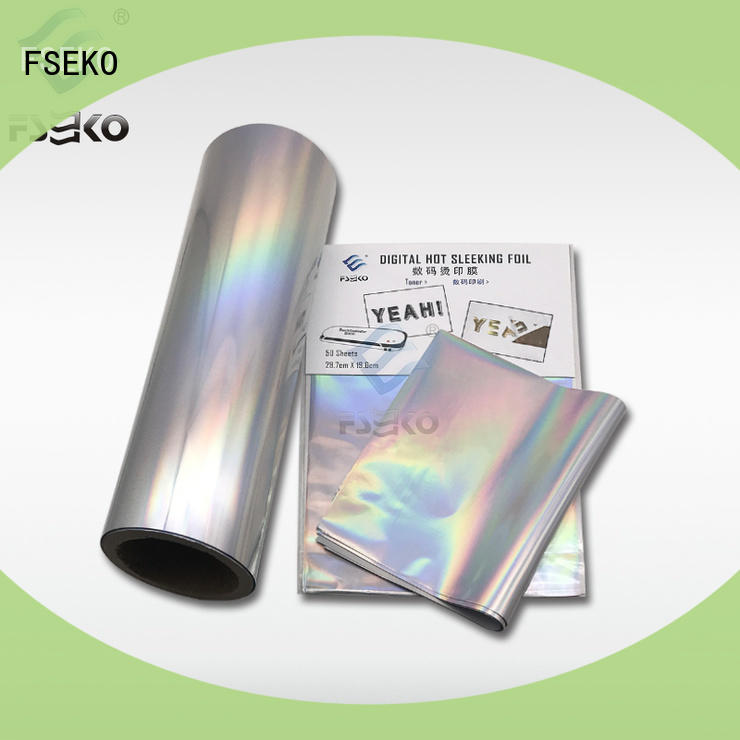 FSEKO nice quality hot foil printing manufacturers for business card