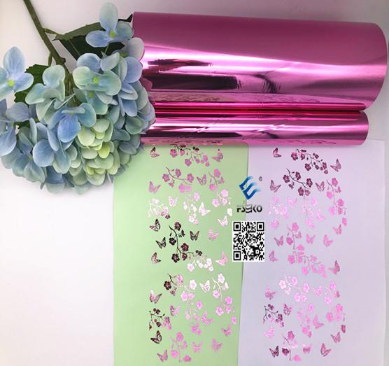FSEKO-EKO Pink Toner Foil Arrive