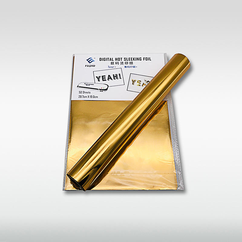 EKO Digital Toner Foil/ hot sleeking film: Gold