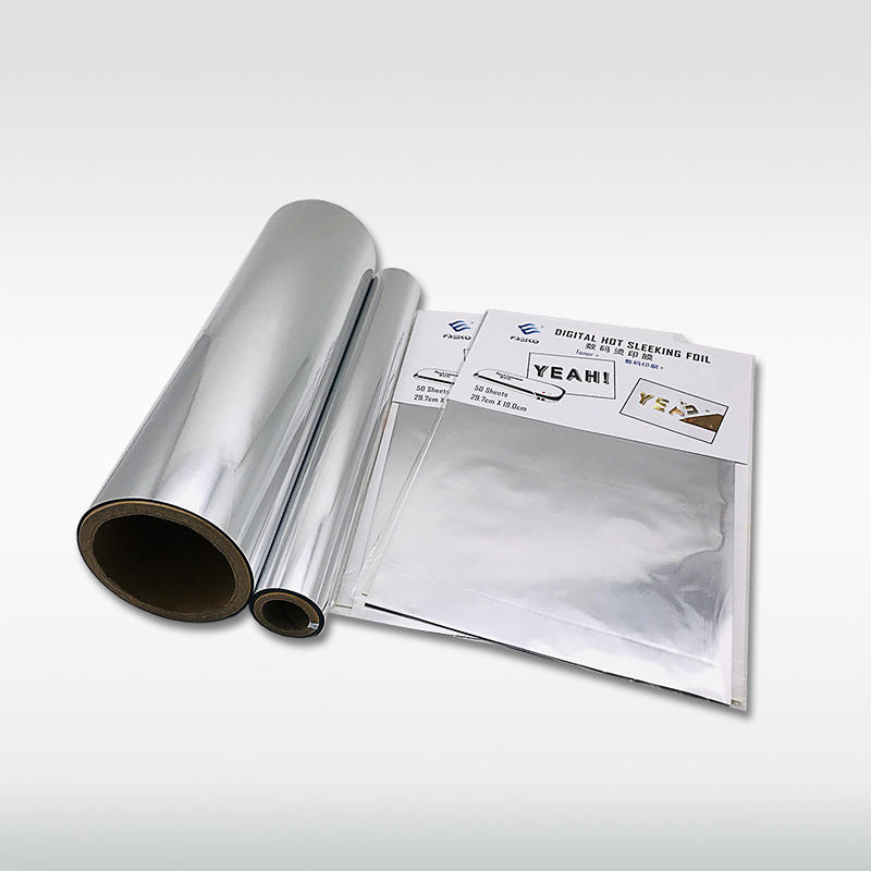 EKO Digital toner foil/ hot sleeking film: Silver
