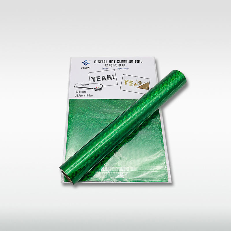EKO Digital hot sleeking film/ Toner Foil: Green Wave