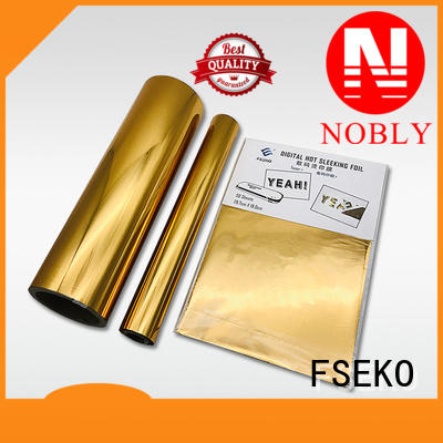 gold hot stamping wholesale for packaging FSEKO
