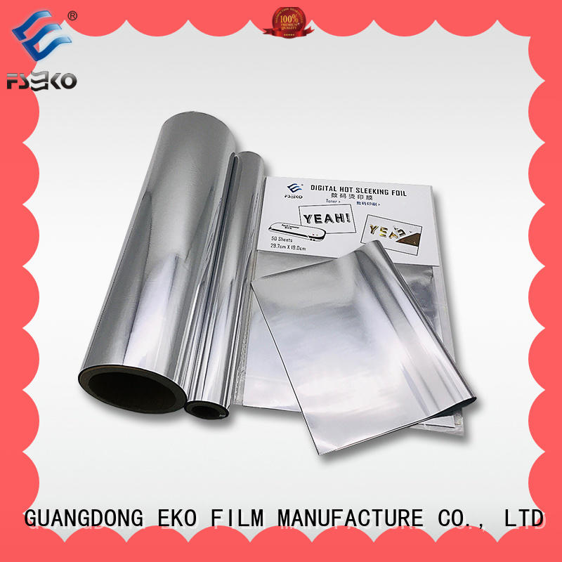 FSEKO red hot stamping foil rolls good selling for business card